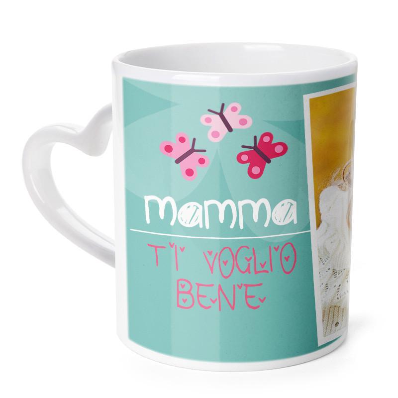 Tazza Cuore Ti Voglio Bene Mamma