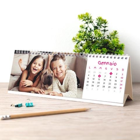 Foto Calendario da Tavolo orizzontale